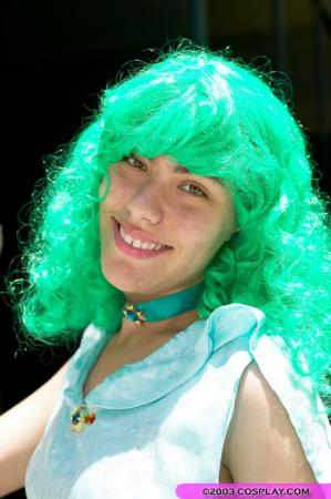 Sailor Neptune from Sailor Moon S worn by Freya