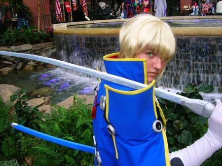 Jin Kisaragi from BlazBlue: Calamity Trigger