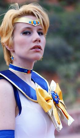 Sailor Uranus from Sailor Moon S worn by Merry Shannon