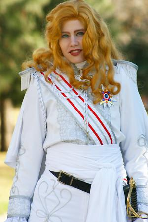 Oscar Francoise de Jarjayes from Rose of Versailles worn by Merry Shannon