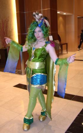 Rydia from Final Fantasy IV worn by HyperrrMouse