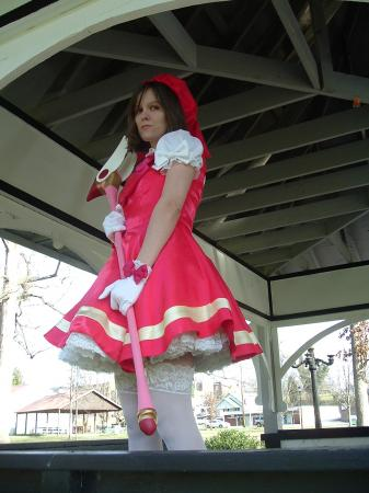 Sakura Kinomoto from Card Captor Sakura worn by Jenn