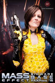 Miranda Lawson from Mass Effect 2 worn by Jenn