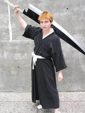 Ichigo Kurosaki from Bleach worn by Ali
