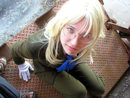 Sir Integra Wingates Hellsing from Hellsing