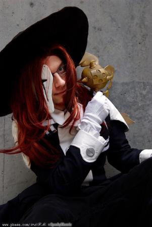 General Cross Marian from D. Gray-Man worn by SpookyElectric