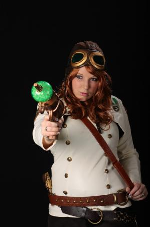 Baroness Von Huffman from Original: Steampunk