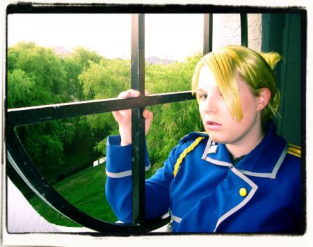 Riza Hawkeye from Fullmetal Alchemist worn by AlexandraKeel