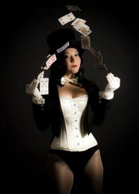 Zatanna Zatarra from DC Comics worn by Lystrade