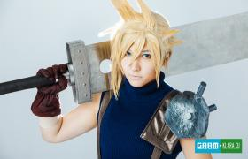 Cloud Strife from Final Fantasy VII worn by Lystrade