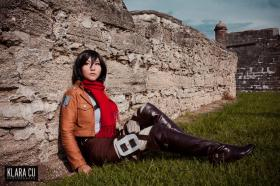 Mikasa Ackerman from Attack on Titan worn by Lystrade