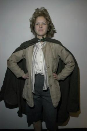 Samwise Gamgee from Lord of the Rings worn by Gale