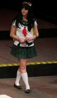 Kagome Higurashi from Inuyasha worn by Gale