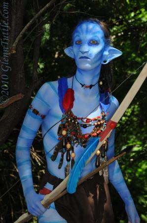 random na'vi from Avatar (James Cameron Movie)