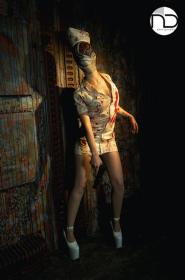 Nurse from Silent Hill: Homecoming worn by YuffieBunny