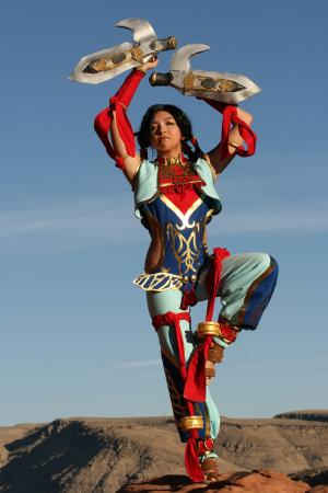 Talim from Soul Calibur 3 worn by Evali