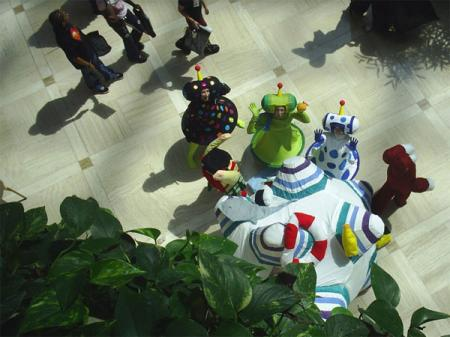 Katamari from Katamari Damacy worn by Evali