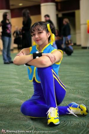 Chun Li from Street Fighter Alpha worn by Evali