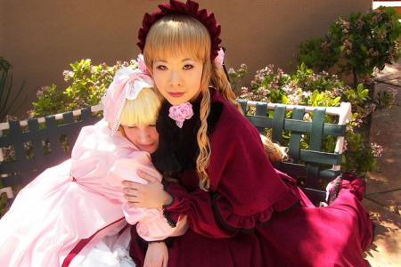 Shinku from Rozen Maiden worn by Krish