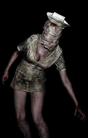 Bubble Head Nurse from Silent Hill 2 worn by Ambrosia