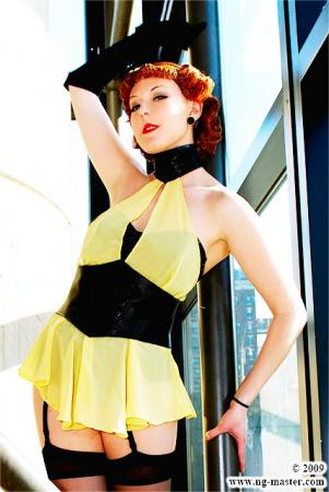Sally Jupiter / Silk Spectre I from Watchmen, The worn by Ambrosia
