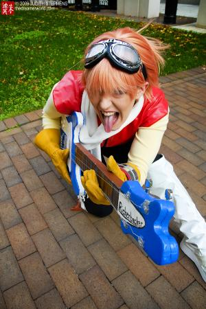 Haruko Haruhara from FLCL worn by Ambrosia
