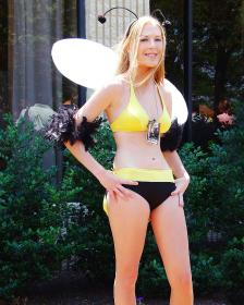 Honeybee Inn Girl from Final Fantasy VII worn by Ambrosia
