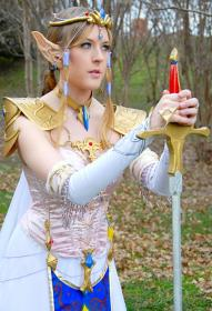 Princess Zelda from Legend of Zelda by Ambrosia