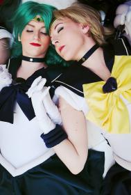 Super Sailor Uranus from Sailor Moon Super S by Ambrosia