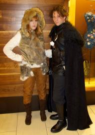 Ygritte from Game of Thrones worn by Ambrosia