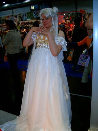 Princess Serenity from Sailor Moon worn by Mizu
