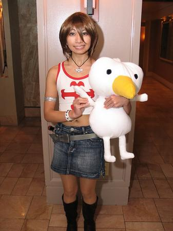 Elie from Rave Master worn by CherryTeaGirl