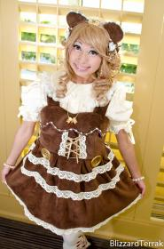 Bear Lolita from Original Design worn by CherryTeaGirl