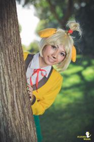 Isabelle from Animal Crossing  by CherryTeaGirl