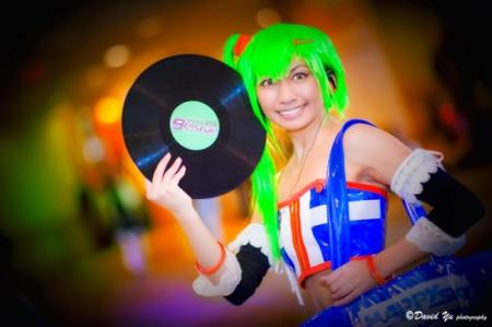 DJ Erika from Beatmania IIDX worn by CherryTeaGirl