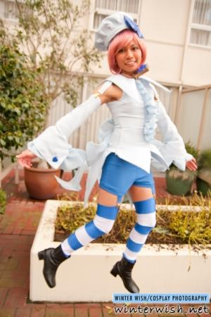 Amulet Spade from Shugo Chara! worn by CherryTeaGirl