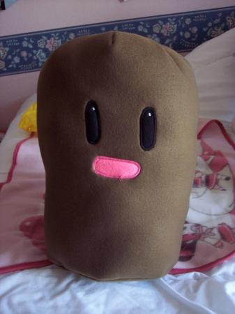Diglett from Pokemon worn by CherryTeaGirl