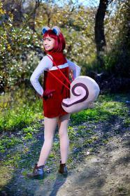 Hazel from Animal Crossing worn by CherryTeaGirl