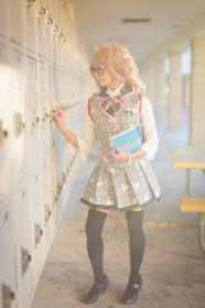 School Girl from Original Design by CherryTeaGirl