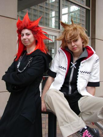 Axel from Kingdom Hearts 2 worn by Tohma