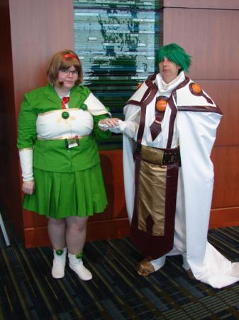 Ferio from Magic Knight Rayearth worn by Tohma