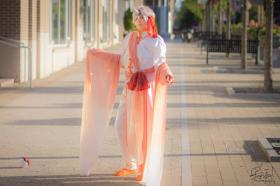 Goldeen from Pokemon worn by Tohma