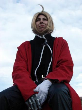 Edward Elric from Fullmetal Alchemist worn by Tohma
