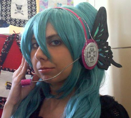 Hatsune Miku from Vocaloid 2 worn by Tohma