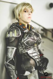 Sergeant Tamora Jean Calhoun from Wreck-It Ralph worn by Onyx