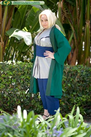Tsunade from Naruto worn by Adrienne Orpheus