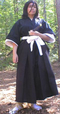 Rukia Kuchiki from Bleach worn by Adrienne Orpheus