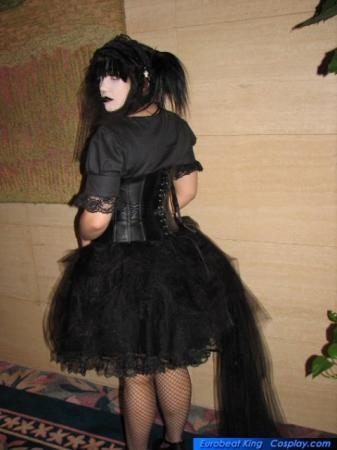 Mana from Malice Mizer worn by Adrienne Orpheus