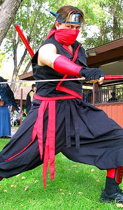 Ninja from Original Design worn by DK Squall