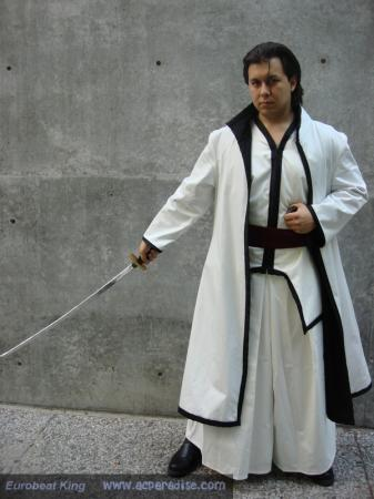 Sousuke Aizen from Bleach worn by DK Squall